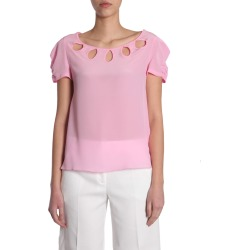 Boutique Moschino Crêpe T-shirt found on MODAPINS from italist.com us for USD $223.38