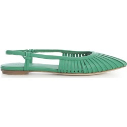 Del Carlo Nappa Pointed Chanel Sandals found on MODAPINS from Italist for USD $426.34