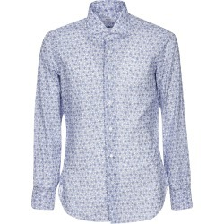 Barba Napoli Rose Print Shirt found on MODAPINS from Italist for USD $148.09