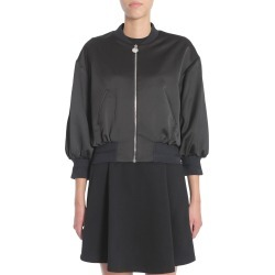 Carven Satin Bomber Jacket found on MODAPINS from Italist for USD $391.21