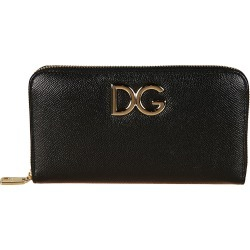 Dolce & Gabbana Logo Plaque Zip Around Wallet found on Bargain Bro India from italist.com us for $524.01