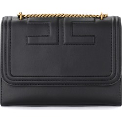 Elisabetta Franchi Black Bag With Logo found on MODAPINS from Italist for USD $415.30