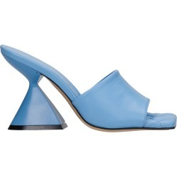 Marc Ellis Trudi Sandals In Cyan Leather found on MODAPINS from Italist for USD $191.24