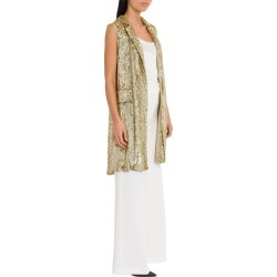 Parosh Long Sequins Waistcoat found on Bargain Bro India from italist.com us for $402.13