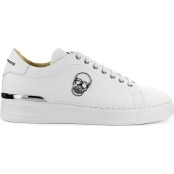 Philipp Plein Lo-top Skull White Sneaker found on MODAPINS from Italist for USD $584.77