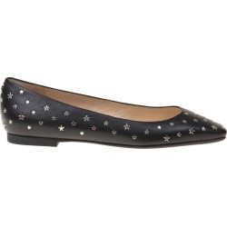 Jimmy Choo Flats Modell In Black Leather found on Bargain Bro UK from Italist