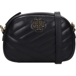 Tory Burch Kira Chevron Shoulder Bag In Black Leather found on Bargain Bro UK from Italist