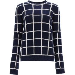 Gabriela Hearst Checkered Crew Neck Sweater found on MODAPINS from italist.com us for USD $1388.88