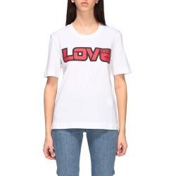 Love Moschino T-shirt Love Moschino Short-sleeved T-shirt With Love Print