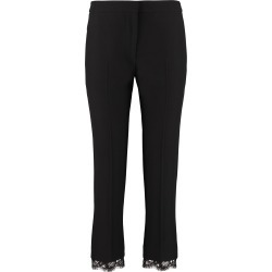 Alexander McQueen Crêpe Pants With Straight Legs found on MODAPINS from Italist for USD $772.88