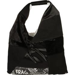 MM6 Maison Margiela Japanese Bag Small Patchwork Mix Black Fabrics