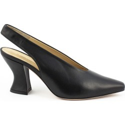 Aldo Castagna Bott Pumps In Black Leather found on MODAPINS from italist.com us for USD $210.13