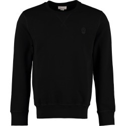 Alexander McQueen Skull Patch Cotton Sweatshirt found on MODAPINS from italist.com us for USD $503.35