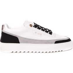 Mason Garments White Leather Sneakers found on MODAPINS from Italist for USD $182.58