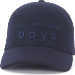 Comme Des Garçons Shirt Blue Wool Baseball Cap found on Bargain Bro India from italist.com us for $233.60