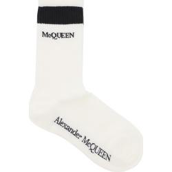 Alexander McQueen Stripe Sports Logo Socks found on Bargain Bro UK from Italist