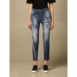 Dsquared2 Jeans Cool Girl Dsquared2 Jeans In Used Denim With Tearsp found on Bargain Bro India from italist.com us for $533.26