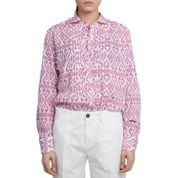 Massimo Alba Magenta Dea Shirt found on MODAPINS from Italist for USD $245.37