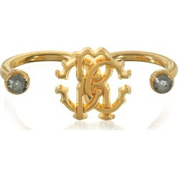 Roberto Cavalli Goldtone Metal Two Fingers Ring found on Bargain Bro India from italist.com us for $176.46