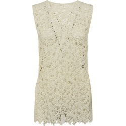 Jil Sander Floral Perforated Sleeveless Top found on Bargain Bro UK from Italist
