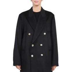 Barena Black Ettore Loden Peacoat found on MODAPINS from Italist for USD $851.10