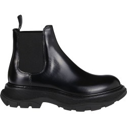 Alexander McQueen Stivali In Pelle Nera found on MODAPINS from Italist for USD $537.35