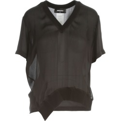 Dsquared2 Silk S/s V Neck Top found on Bargain Bro India from italist.com us for $457.70