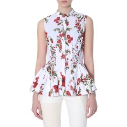Alexander McQueen Poppy Field Print Shirt found on MODAPINS from italist.com us for USD $774.46