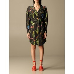Boutique Moschino Dress Moschino Boutique Dress With Botanical Pattern