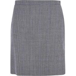 Alexander McQueen Rear Zip Checked Skirt found on Bargain Bro UK from Italist