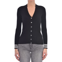 Off-White Knit Cardigan Sweater Black found on Bargain Bro UK from Italist