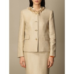 Boutique Moschino Jacket Moschino Boutique Crewneck Jacket In Mat