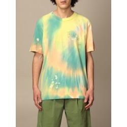 Paura Di Danilo Paura T-shirt Paura T-shirt By Danilo Paura In Tie Dye Cotton found on MODAPINS from Italist for USD $145.00