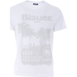 Blauer Short Sleeve T-Shirt found on MODAPINS from Italist for USD $95.73