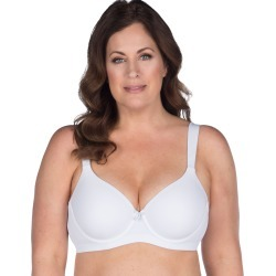 Leading Lady Classic Padded Underwire T-Shirt Bra White 44DDD Women's found on Bargain Bro from JustMySize for USD $19.00