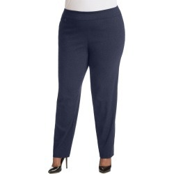 Just My Size JMS Super Stretch Tummy Control Pull-On Slim Pants, Tall Length Dark Denim 24W Women's found on Bargain Bro from JustMySize for USD $17.10