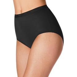 Bali Full-Cut-Fit Brief Black 11 Women's found on Bargain Bro India from JustMySize for $10.00