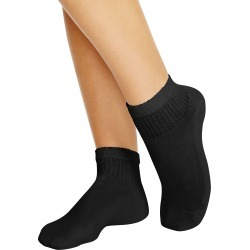 Hanes Cushioned Women's Ankle Athletic Socks 10-Pack Black 9-11 found on Bargain Bro Philippines from JustMySize for $8.99