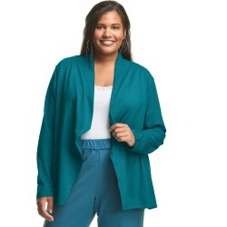 Just My Size Jersey Matchables Swing Cardigan Teal Paradise 2X Women's found on Bargain Bro from JustMySize for USD $16.72