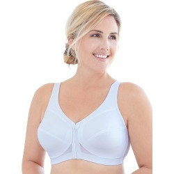 Glamorise Full Figure Plus Size MagicLift Front Close Posture Back Support Bra White 52D Women's found on Bargain Bro India from JustMySize for $40.00