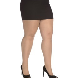 Just My Style Day Sheer Control Top Pantyhose, Enhanced Toe 3-Pack Beige XL Women's found on Bargain Bro India from JustMySize for $13.00