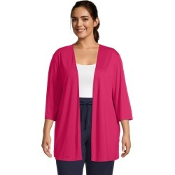 Just My Size JMS Lightweight Open Cardigan Strawberry Rouge 3X Women's found on Bargain Bro from JustMySize for USD $12.16