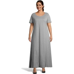 Just My Size Jersey Matchables Maxi Dress Grey Heather 1X Women's found on Bargain Bro from JustMySize for USD $25.84