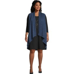 Just My Size Cardi Dress with Necklace Black/Blue 2X Women's found on Bargain Bro from JustMySize for USD $15.18