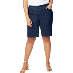 Just My Size JMS 4-Pocket Bermuda Shorts Indigo Denim 3X Women's found on Bargain Bro Philippines from JustMySize for $19.00