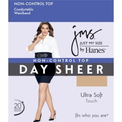 Just My Size JMS Regular, Sheer Toe Pantyhose 5X-6X 4-Pack Nude 5XL Women's found on Bargain Bro Philippines from JustMySize for $10.90