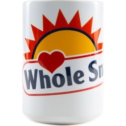 The Whole Snack Coffee Mug in White