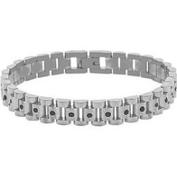 The Mister Lynx Bracelet - Chrome & Black