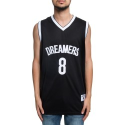 Twenty First Basketball Jersey in Black