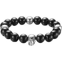 The Mister Annum Plus Bead Bracelet - Chrome